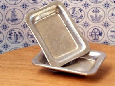 Dolls House Miniature 1/12th Scale Baking/Serving Tray Various Designs