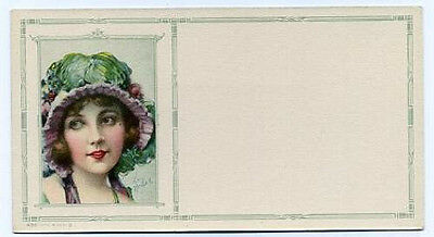 Beautiful blotter - girl of the 1920s