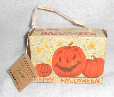Reproduction Vintage Style Halloween Candy Box - Annie Schickel, New!