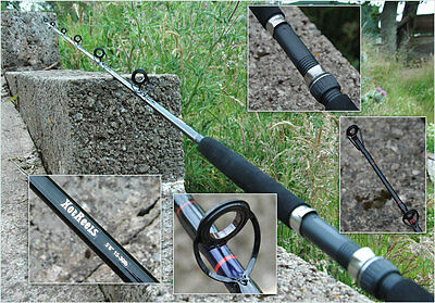 Wholesale 10 X 5'6'' Boat Fishing Rod ,printed With Your Own Brand Logo