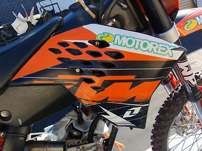 Right Radiator Shroud Scoop to suit KTM 250SXF 250 SX-F 450 SX EXC 2007 07