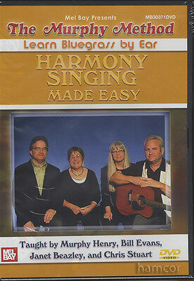 The Murphy Method Harmony Singing Made Easy DVD Singers Vocal Tuition