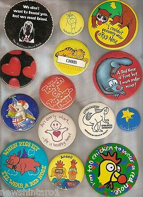 #d48. Collection Of 14  Large Badges