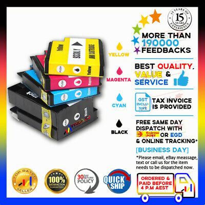 4x Compatible Ink Cartridges HP 932XL 933 933XL For Officejet 6600 6600e Printer