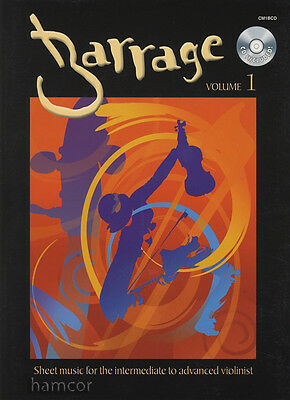 Barrage Volume 1 Violin Fiddle Sheet Music Book with CD