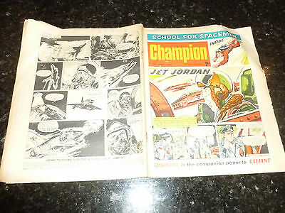 CHAMPION Comic (1966) - Date 16/04/1966 - UK Paper Comic