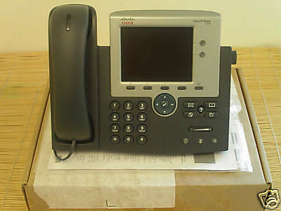NEU Cisco CP-7945G-CH1 Unified IP VoIP Phone Telefon NEW OPEN BOX