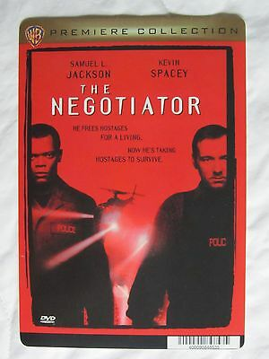 THE NEGOTIATOR movie backer card (this is not a dvd) KEVIN SPACEY
