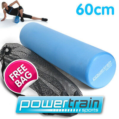 60x15cm EVA PHYSIO FOAM SMOOTH AB ROLLER YOGA PILATES EXERCISE BACK HOME GYM ITB