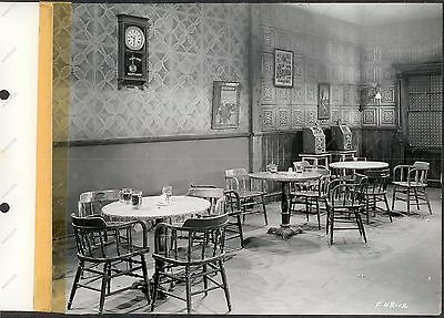 Vintage Photo ANTIQUE SLOT MACHINES Gambling Bar Saloon CALABOOSE FILM STILL '43