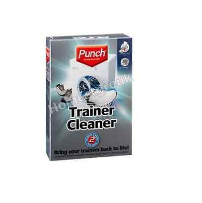 Punch Trainer Shoe Cleaner Cleaning Sachet Bag Stain Remover Cleans & Protect