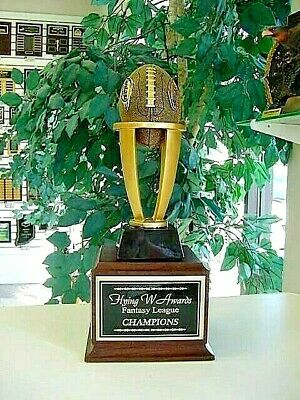 Fantasy Football Perpetual Trophy 16 Years Ffl New Design Awesome!