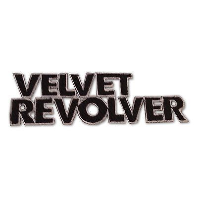 Velvet Revolver Patch, New Embroidered Iron On Applique