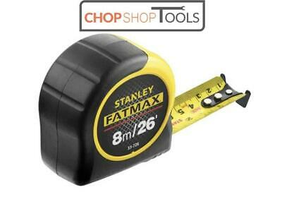 "Stanley FatMax ""BladeArmor"" 8m 26Ft Tape Measure 3 Rivet 0-33-726 SPECIAL OFFER"