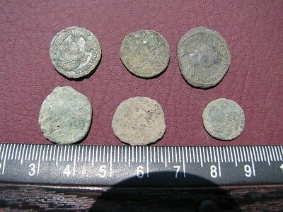 6 High Quality Ancient Roman coins +4 oz Mint State Restoration Cleaner MSR 051