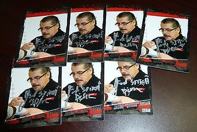 Jacob Stitch Duran Signed 2010 Topps UFC Trading Card #178 Autograph MMA Cutman