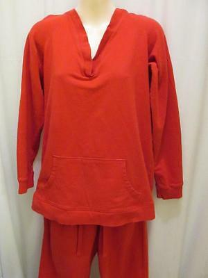 Motherhood Maternity Red Hoodie and Pants Set