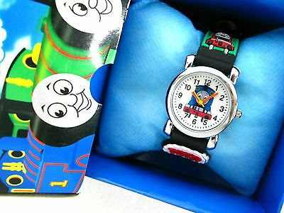 Thomas the tank engine  children's Watch w/ gift box free P & P BK NEW