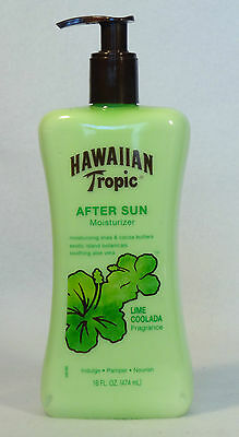 1 Hawaiian Tropic AFTER SUN Moisturizer LIME COOLADA With Soothing Aloe Vera