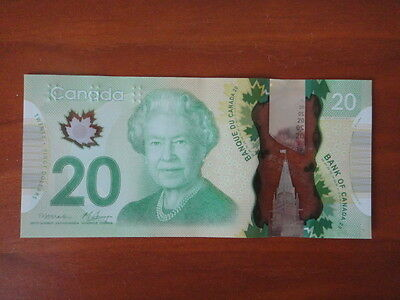 Bank Of Canada Canadian $20 Polymer Banknote Brand New Unc Beautiful Bill