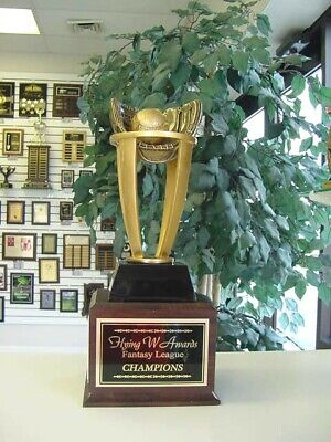 Fantasy Baseball Perpetual Trophy 16 Years New Design Awesome!