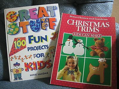 100 Fun Projects for Kids and Christmas Trims Kids Can Make