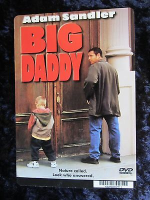 BIG DADDY movie backer card ADAM SANDLER (this is NOT a dvd)