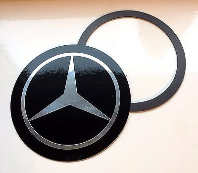 Magnetic Tax Disc Holder fits mercedes silver logo