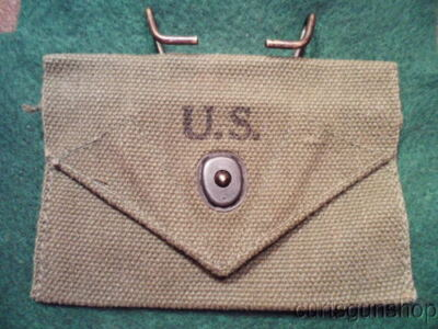 Mint Wwii Us Army Carlisle 1St Aid Bandage Pouch