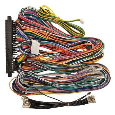 JAMMA PLUS BOARD Full Cabinet Wiring Harness Loom for Jamma ... on