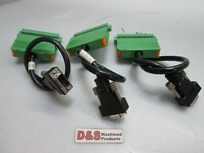 Lot of 3 Phoenix Contact KGG-MC 1,5/16 Cable Housing 16 POS