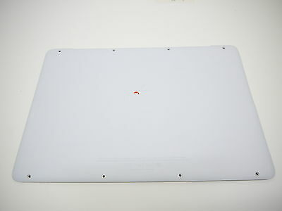 """USED Lower Bottom Case Cover White 604-1033 for Apple MacBook A1342 13"""" Unibody"""