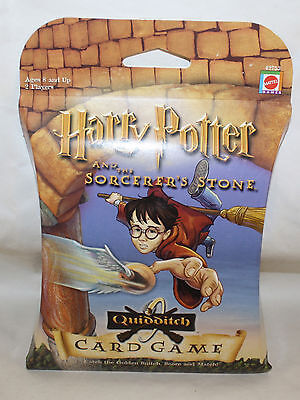 BRAND NEW, HARRY POTTER AND THE SORCERER'S STONE QUIDDITCH CARD GAME, RARE