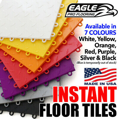 EAGLE PRO FLOORING - Garage Shed Floor Tiles Gym Race Car Show Room Deck Mat