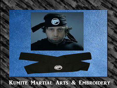 Fist of Goodness Embroidered Super Hero Character Headband