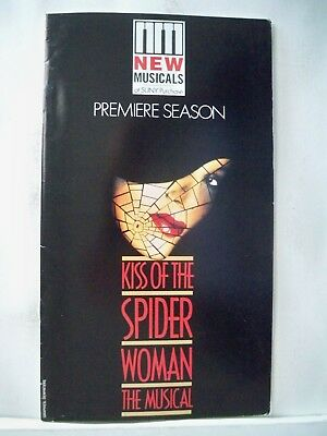 KISS OF THE SPIDER WOMAN Large Program LAUREN MITCHELL Tryout SUNY Purchase 1990