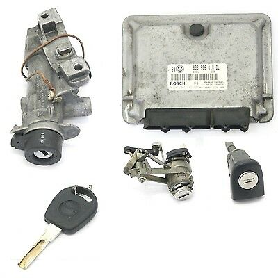 VW Golf MK4 AGR 1.9 TDI Lock Kit; Ecu, Boot Lock, Key & Ignition 038 906 018 BL