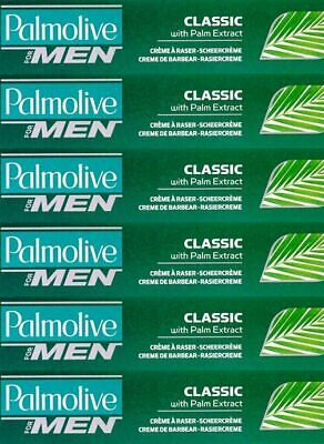 Palmolive For Men Classic Palm Extract Shave Stick 50g x 4 Packs