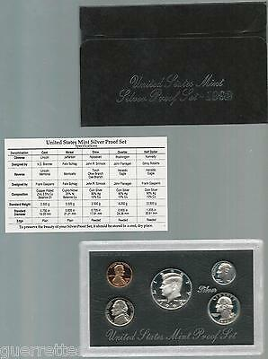 """1992-S Silver Proof Set """"Proof"""""""