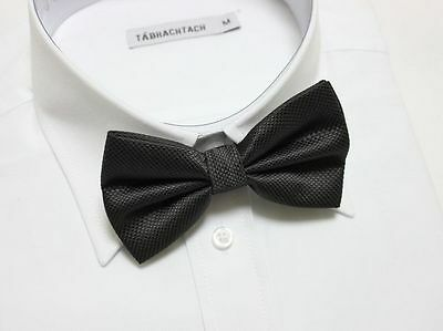 New Wedding Formal Bowtie Polyester Bow Tie Ties Tuxedo Suit Black Checkered