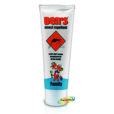 Bens Family Insect Repellent Cream Mosquitoes & Biting Insects Protection 100ml