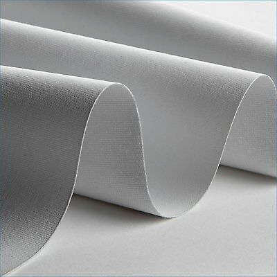 Carl's Blackout Cloth, (2.35:1)  110x270, Projector Screen Material, White