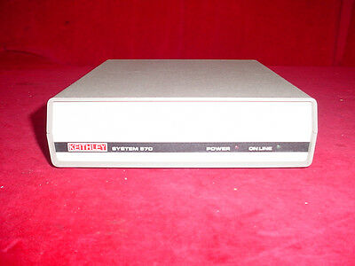 Keithley 570 Data Acquisition System Station Computer Interface Module