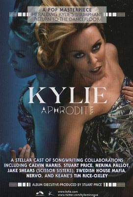 Kylie Minogue - Aphrodite - promotional poster #2 - 11 x 17 inches