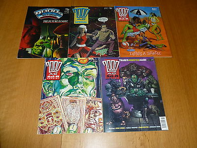 2000 AD Comic - SCI-FI SPECIAL  5 PROG JOB LOT - Date's 1987 - 1991 Inclusive