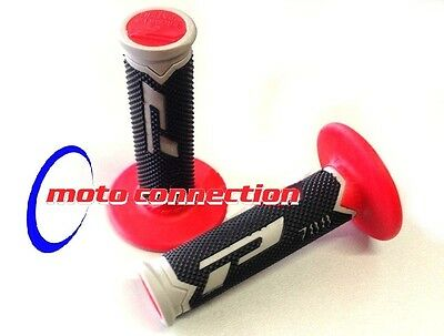 PRO GRIP 788 TRIPLE COMPOUND MOTOCROSS GRIPS FLO PINK HONDA CRF250 CRF450 2018