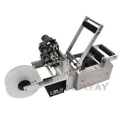 Automatic Round Bottle Labeling Machine With Date Code Printer Bottle Labeler CE