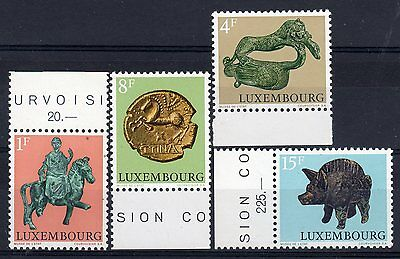 LUXEMBOURG = 1973 Archaeological Relics set of 4 SG902/905. MNH.