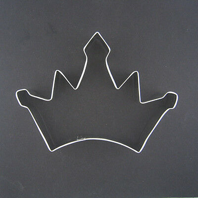 """Crown 4.5"""" Metal Cookie Cutter Fondant King Queen Party Favor Stencil New"""