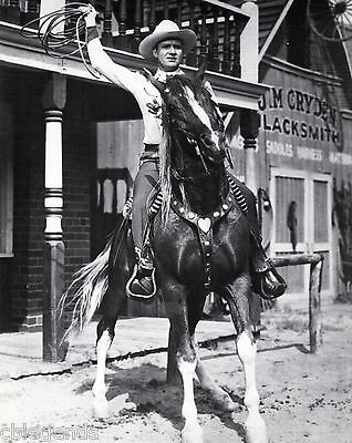 GENE AUTRY   Reprint with Rope on Champion  AUT-07